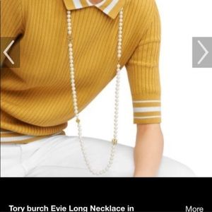 ISO Tory Burch Evie pearl necklace